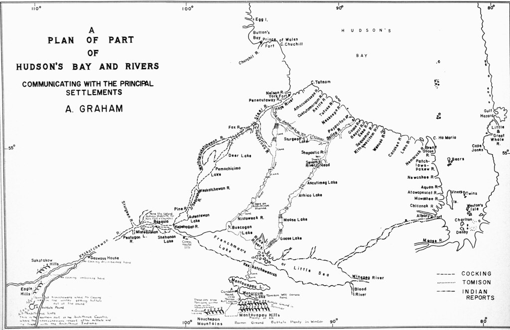 A Plan of Part of Hudson's Bay and Rivers Communicating wi