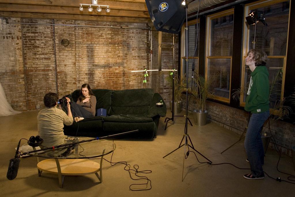 Living Room Movie Shoot  My living room was recently transf  Flickr