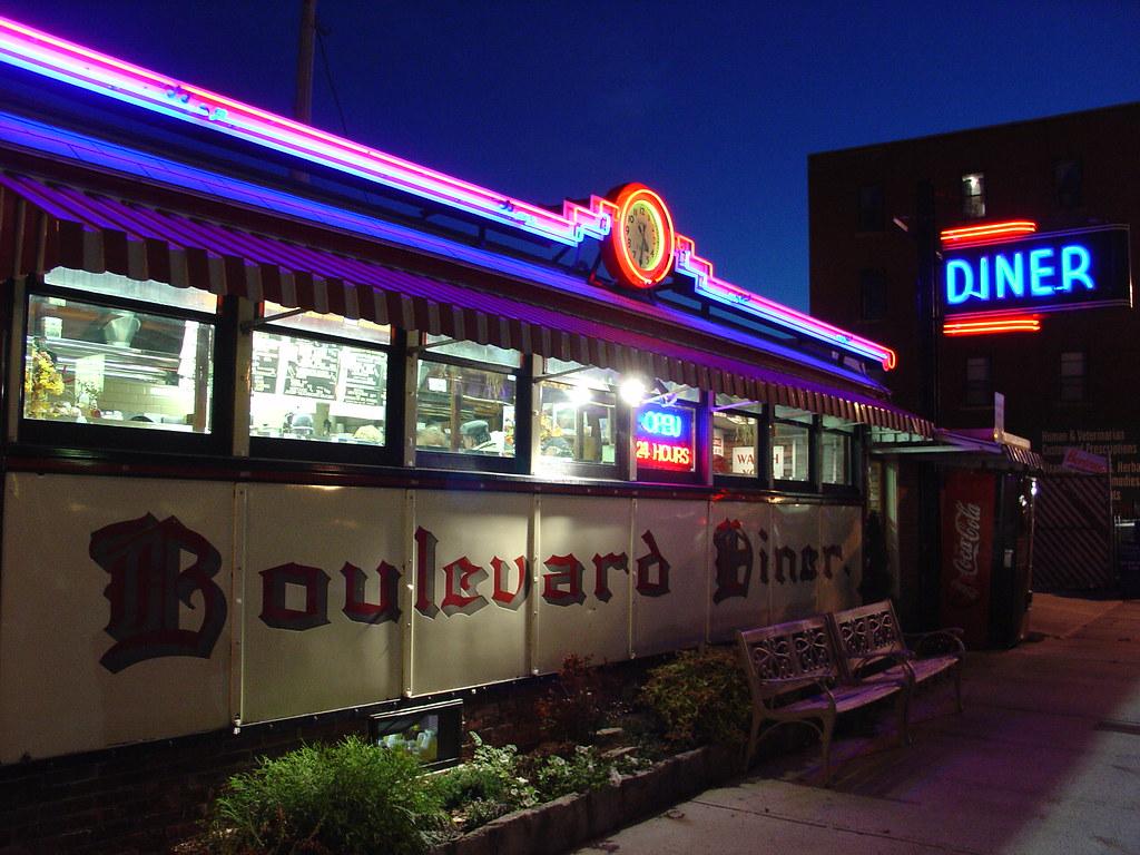 Boulevard Diner Worcester Massachusetts  Boulevard