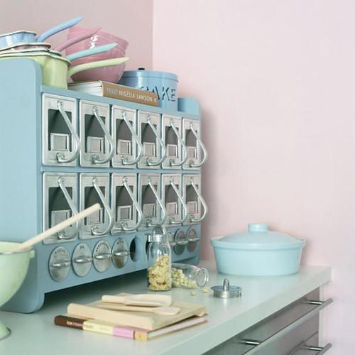 vintage pastel kitchenjpg  Kitchen from Living etc magazi  Flickr