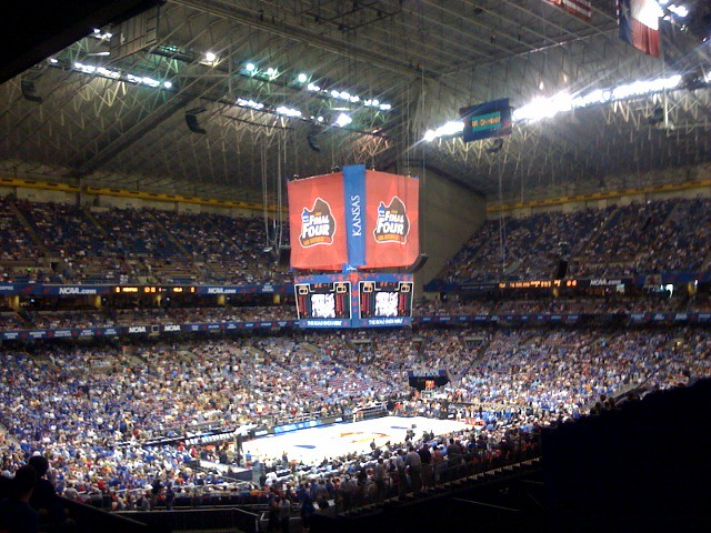 At The Alamodome For The Mens Final Four Game Go Bruins