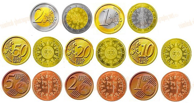 Portuguese Euro Coins  The escudo was the currency of