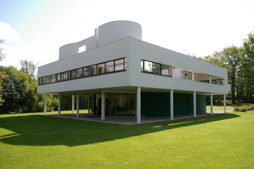Villa Savoye  Le Corbusier 1929 Poissy  Thom Mckenzie  Flickr
