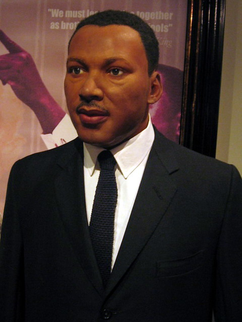 Martin Luther King Jr Madame Tussauds Wax Museum Amster
