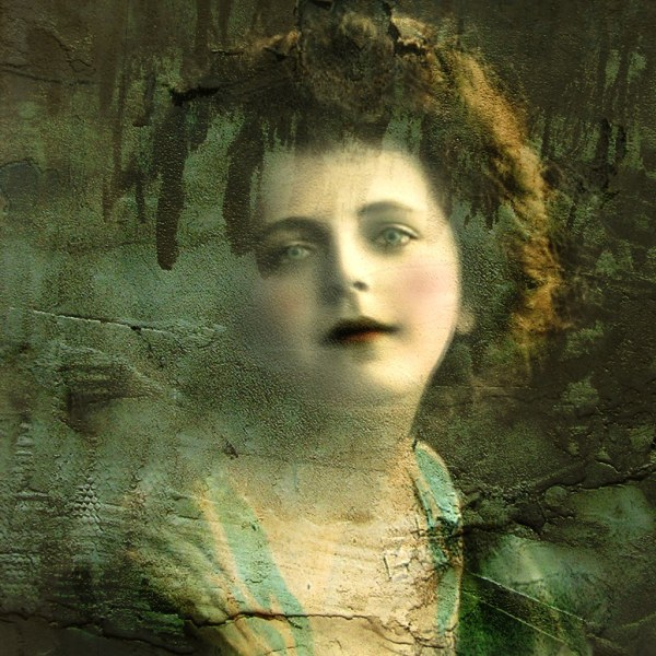 Mixed Media Altered Art - Reworked Vintage