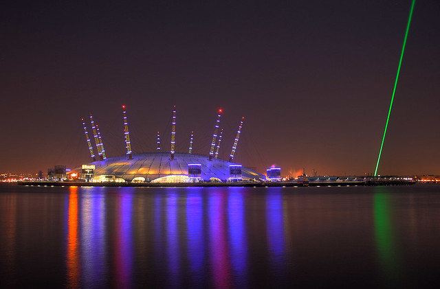 O2 Arena HDR  O2 Arena London shot from the East India