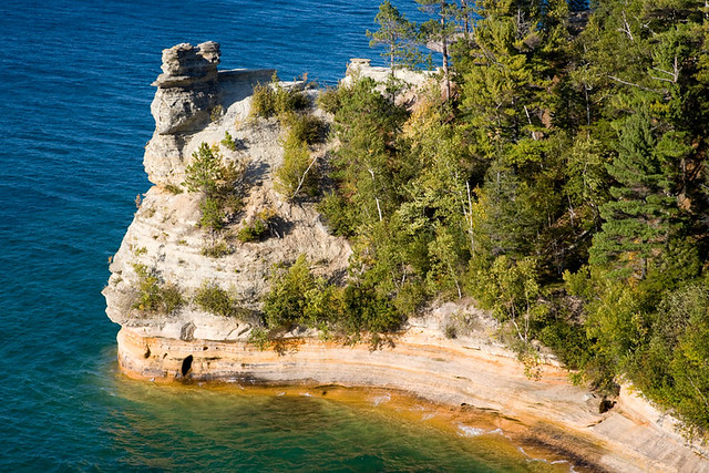 Miners Castle  Pictured Rocks National Lakeshore  My