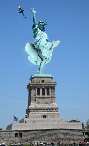 Statue Of Sexyness You Thought Lady Liberty Is Made Of