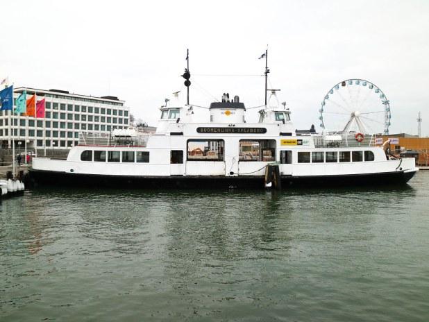 Barco a Suomelinna