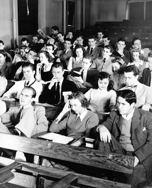 Boring Lecture 1940s  Repository Duke University