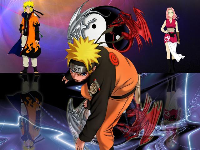 Dragon Ball Wallpaper 3d Naruto Future Naruto Present Sakura Future Who