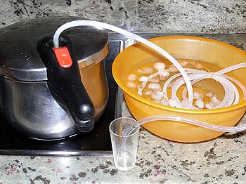 Destilador  Destilador casero para condensar aromas