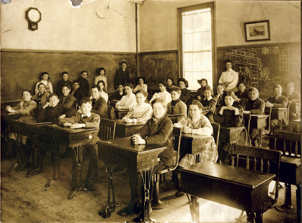 Classroom William Creswell Flickr