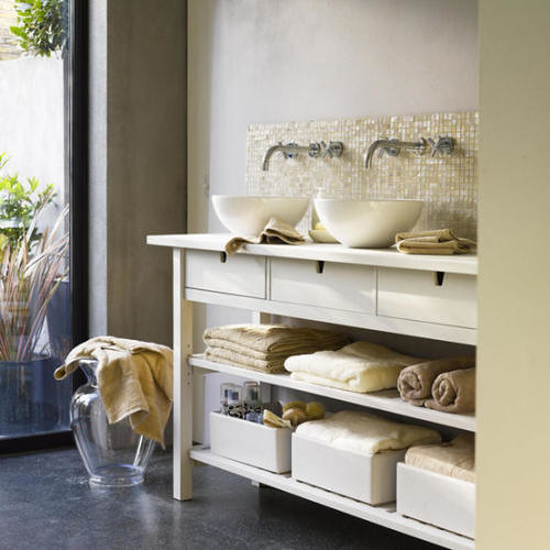 kitchen server monogrammed towels ikea as bathroom console wash basi flickr this could be my house by