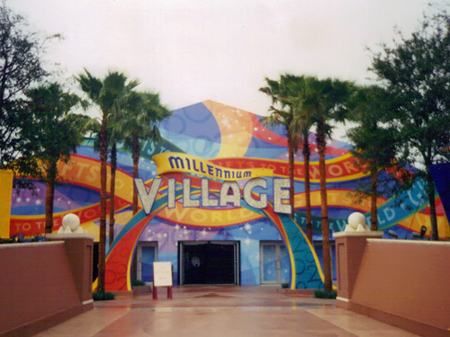 Epcot Millenium Village Lost Pavilion