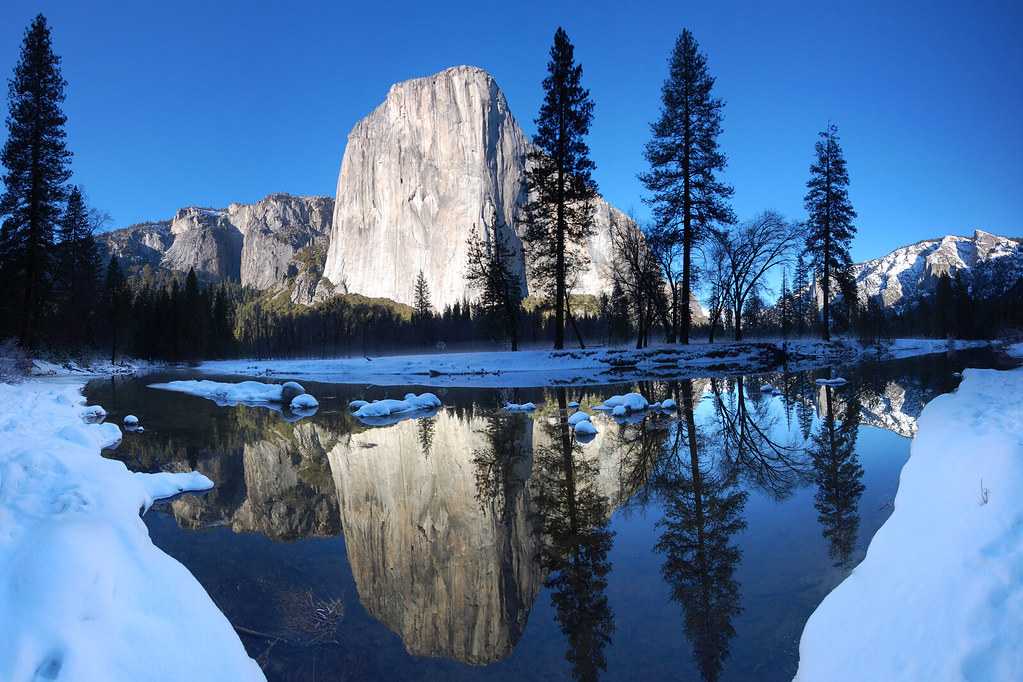 World Best 3d Wallpaper El Capitan Reflected If You Ve Seen My Photo From Dewey