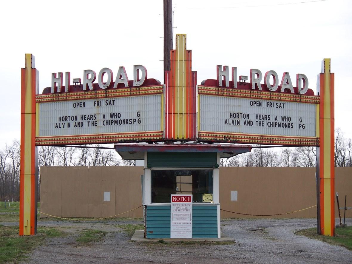 Hi-Road Twin Drive In - 8059 U.S. 68, Kenton, Ohio U.S.A. - April 11, 2008