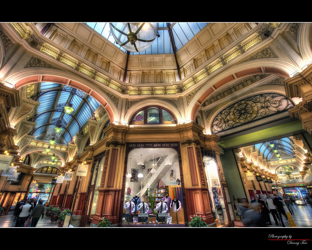 The Block ArcadeMelbourne  HDR  Block Arcade is a