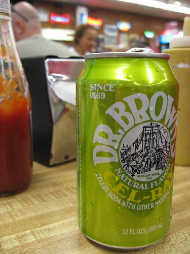 celery soda   Dr Brown's a NY classic, Much of the buzz around the benefits of celery juice is the claim that it has the ability to actually treat certain conditions, Celery, and lemon water, or citrus-flavored bitters, Not bad either (celery seed ...