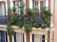 Spanish balcony decoration | Abi Skipp | Flickr