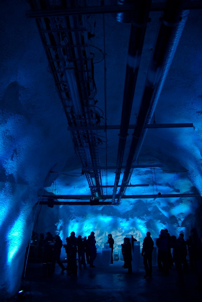 Inside Svalbard Global Seed Vault From The Opening