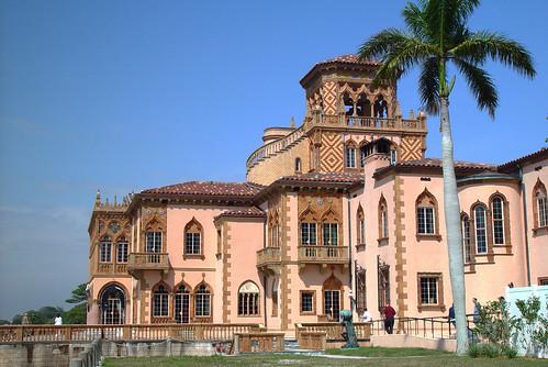 Ringling Mansion Sarasota  Built 1926 Ringling is said