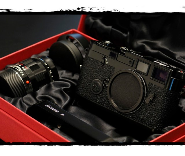 Leica Mp 3 Lhsa Special Edition Black Paint By Sugoi L