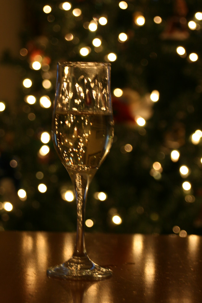 Champagne And Christmas Tree Quinn Dombrowski Flickr