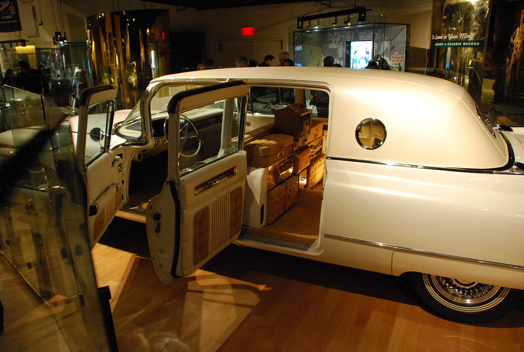 Elvis gold Cadillac  Country Music Hall of Fame and