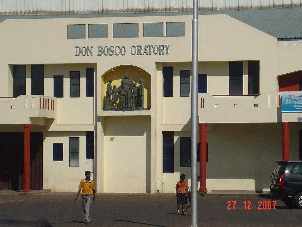 Don Bosco Oratory Panjim Goa India  Don Bosco Oratory