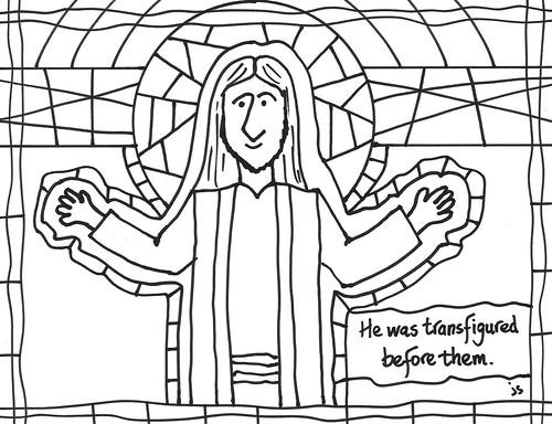 Transfiguration art bulletin
