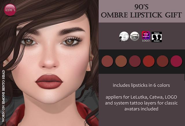 90's Ombre Lipstick Gift (@ Rewind)