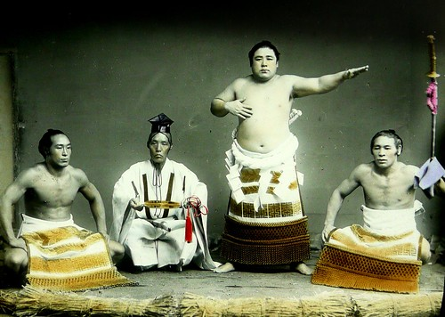 THREE SUMO CHAMPS AND A REF  King of the Ring in Old Yok  Flickr
