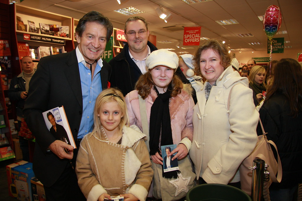 patrick mower and happy family  actor patrick mowers