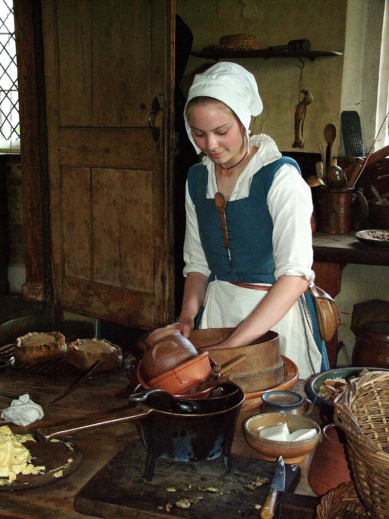 Kitchen Maid  Taken at the Elizabethan recreation days at