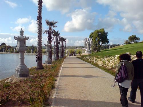 Jardim Buddha Eden no Bombarral  Junto ao Grande Lago