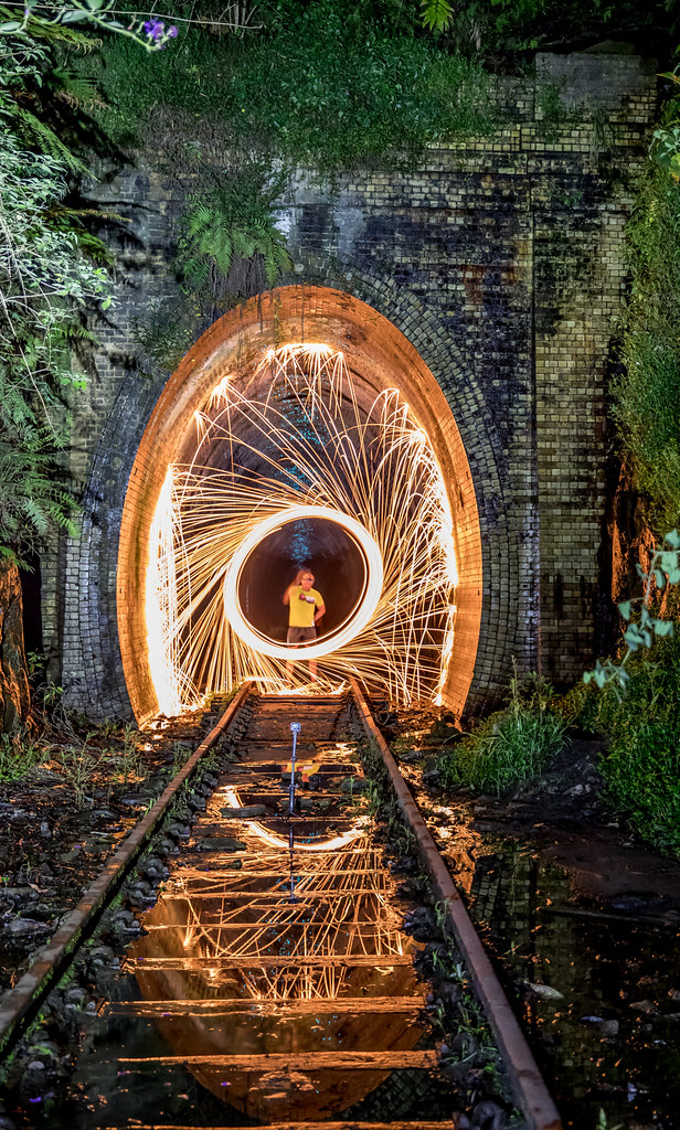 Old Helensburgh Station  Another good night shooting at