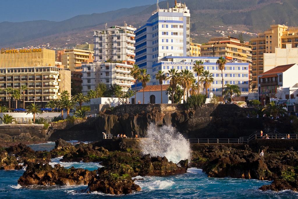 Puerto de la Cruz Tenerife  View of Puerto de la Cruz hote  Flickr