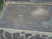 Cornwall Furnace Historic Marker