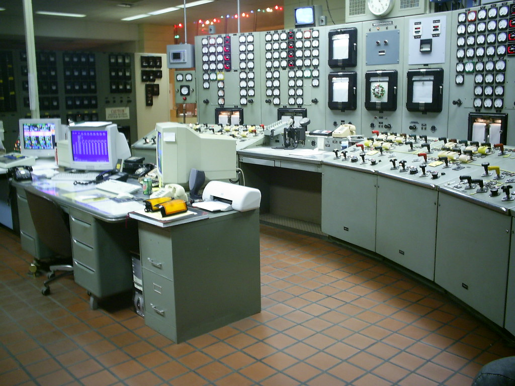 Electrical Control Room  This was my home away from home