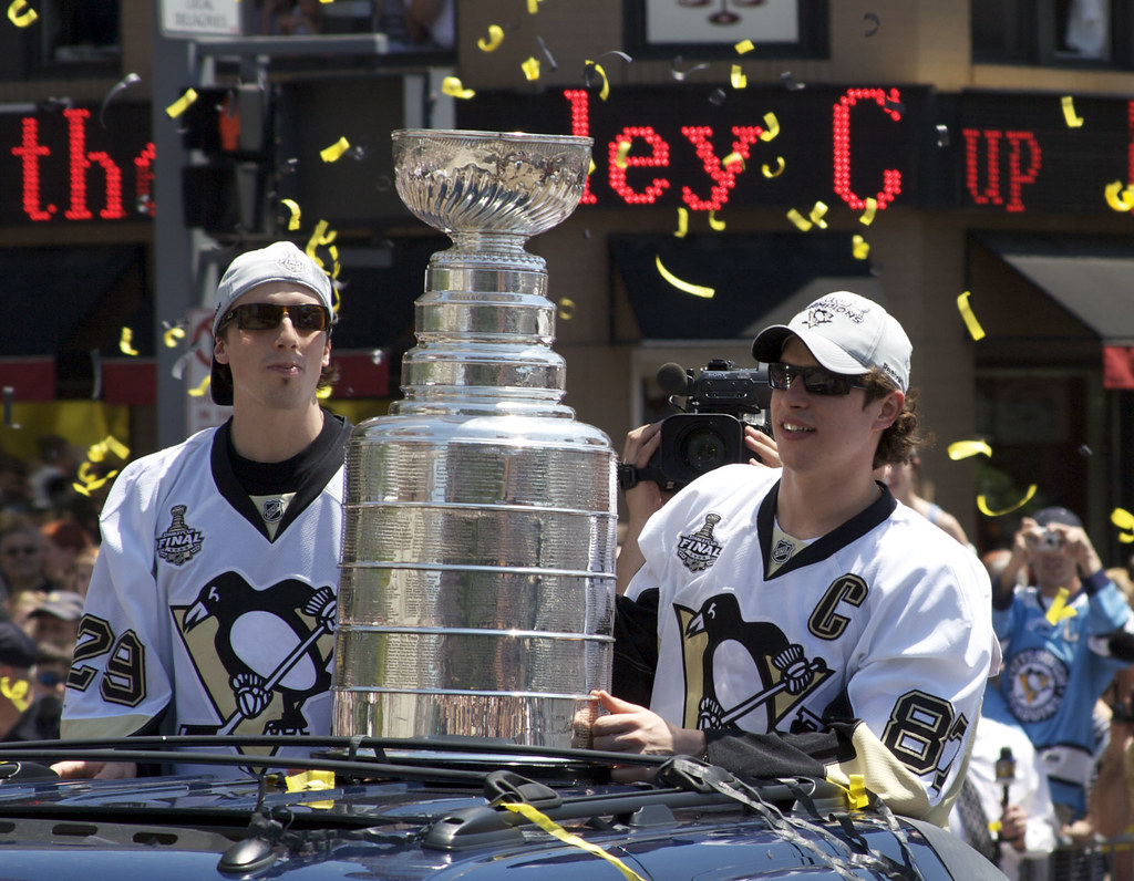 Marc Andr Fleury The Stanley Cup And Sidney Crosby Flickr