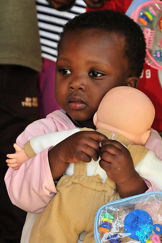 US service members visit Swazi orphanage during MEDFLAG