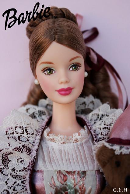Victorian Barbie With Cedric Bear 2000 Tiny Anonimatus