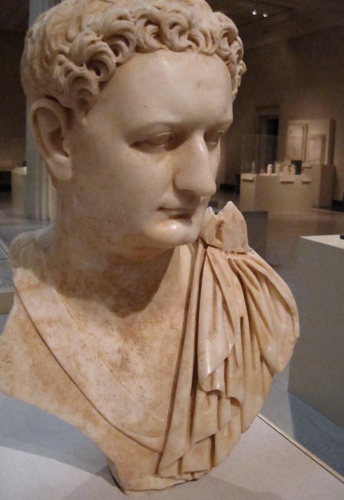 Emperor Titus Flavius Domitianus  Marble Portrait bust Roma  Flickr