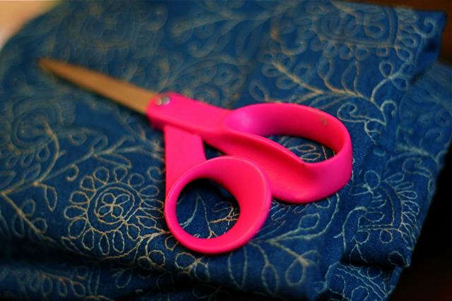 Pink Scissor and Fabric 7909  IMG_8313  Caroline used t  Flickr