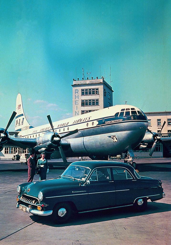 Pan American World Airways  19531955 Opel Kapitn No