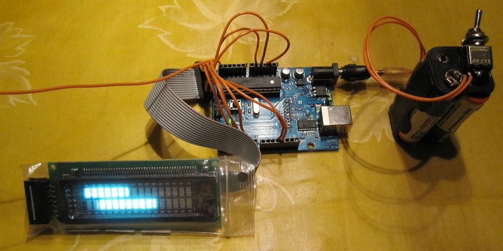 LCDbased Arduino EMF detector  Based on Aarons detector   Flickr