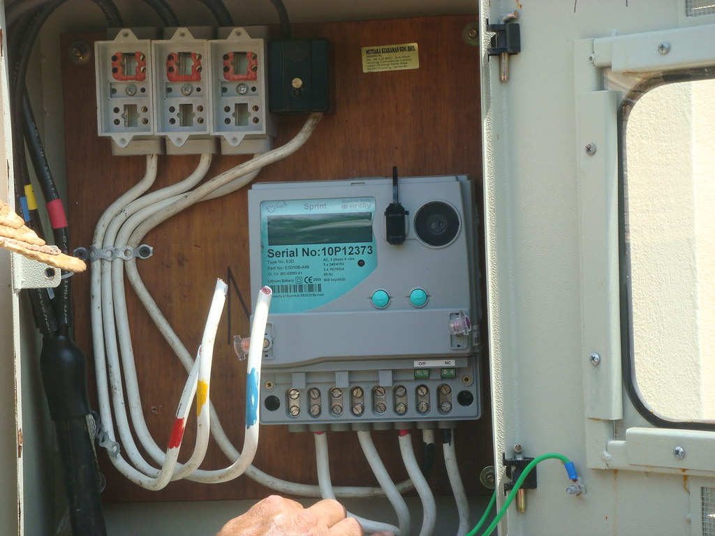 3 Phase Electric Panel Wiring Diagram 3 Phase Meter Installation 1 Check If There S Any