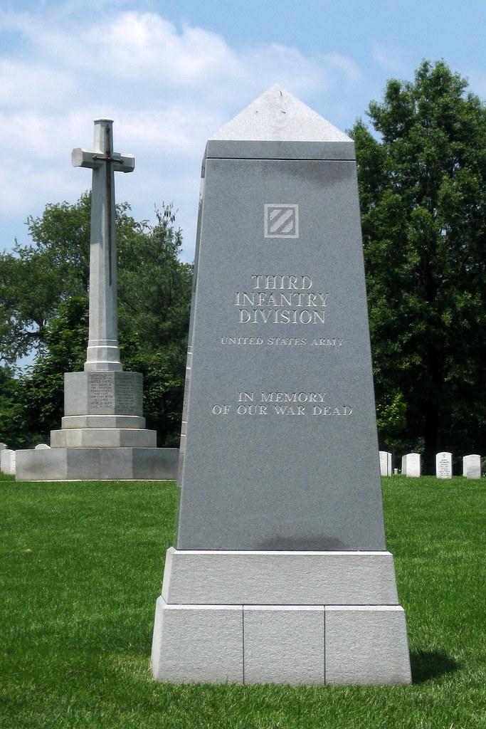 Virginia  Arlington National Cemetery Third Infantry Div