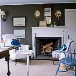 Vintage Dentist Chair Cherner Side Understated Blue + Brown Hamptons Style: Benjamin Moore 'c… | Flickr
